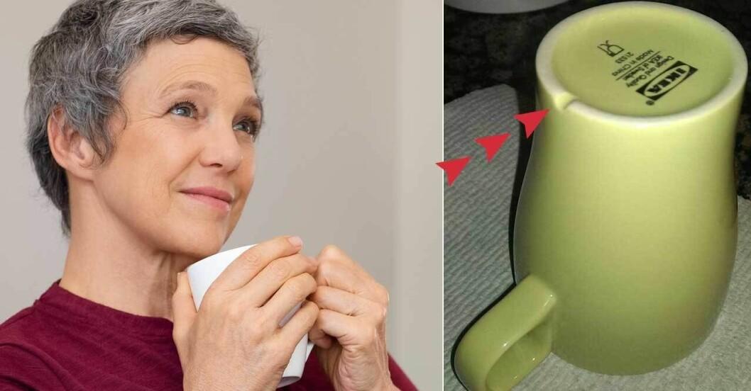 IKEA har fixat en smart funktion på sin kopp.