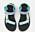Sportiga sandaler med karborreband. Band i olika gröna och blå nyanser. Sandaler från Teva.