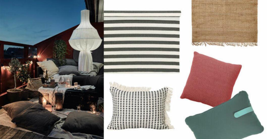 Textilier för uteplatsen – köptips