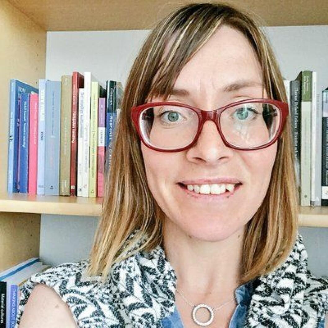 Linda Kvarnlöf, lektor i sociologi och forskare vid risk och kriscentrum vid Mittuniversitetet. Foto: Privat