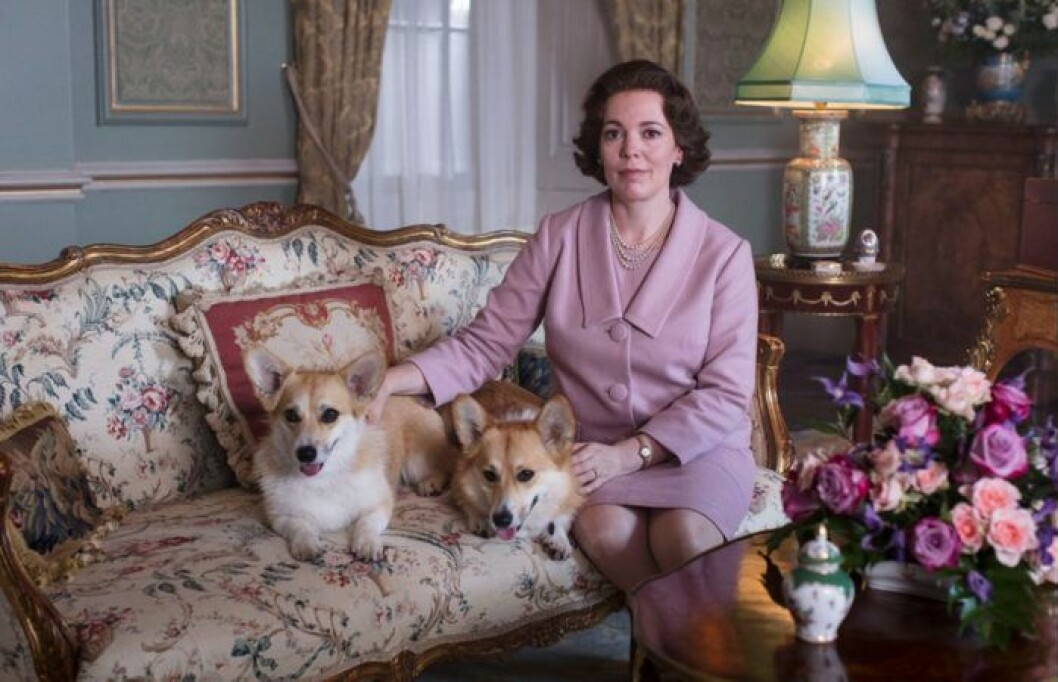 Olivia Colman som drottning Elizabeth i The Crown.