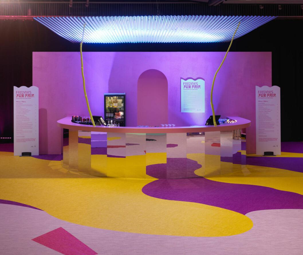 Designbaren på Stockholm Furniture & Light Fair.