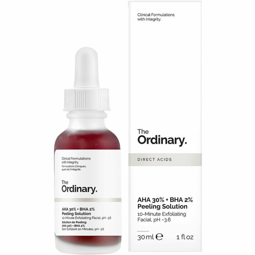 Peeling solution the ordinary singles day