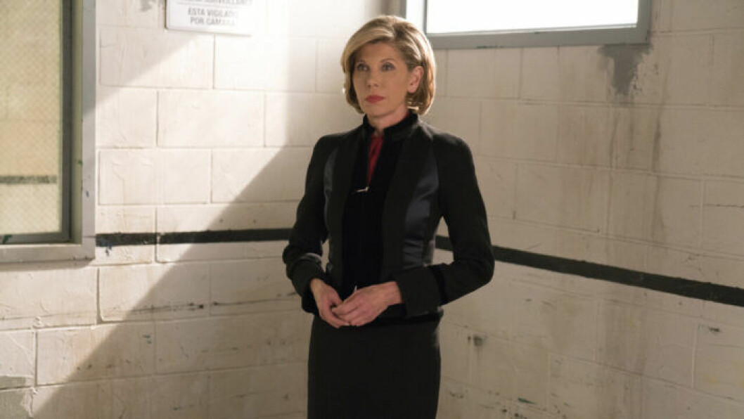 En bild på karaktären Diane Lockhart i tv-serien The Good Fight.