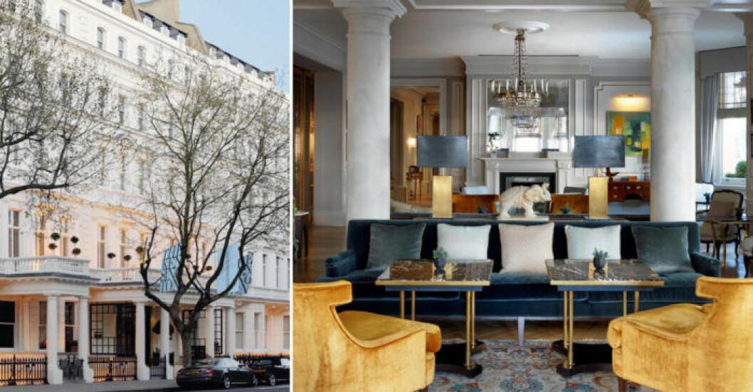Lyxigt hotell i London med närhet till Harrods