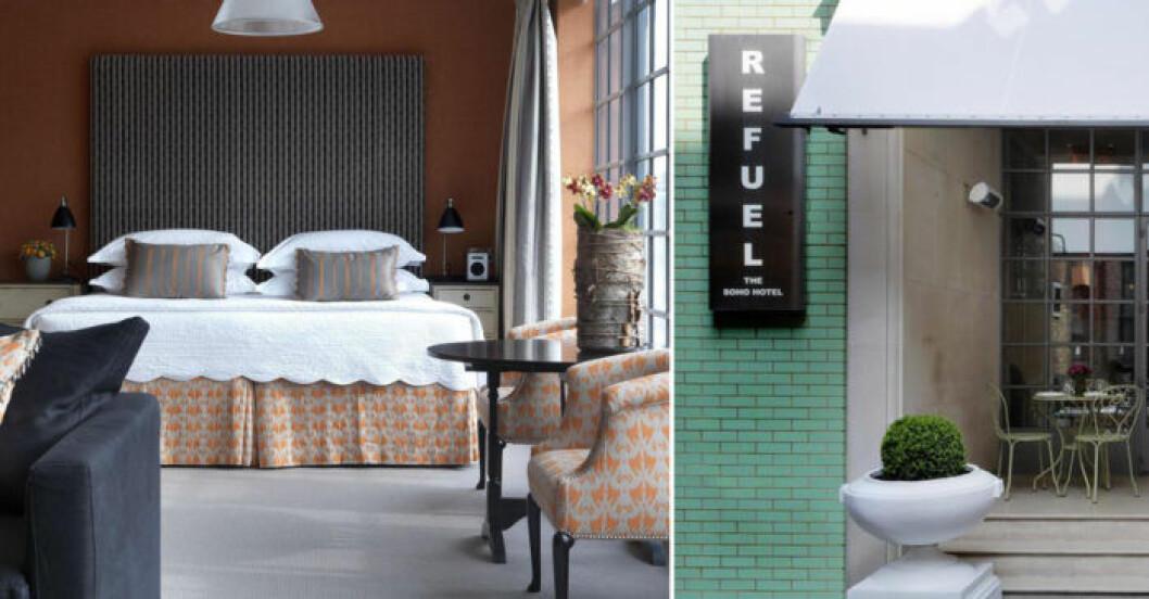 The Soho Hotel ligger fem minuter från Oxford Street i London