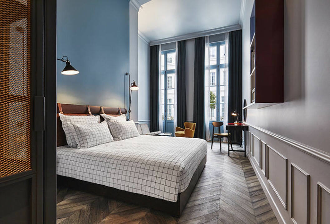 The Hoxton hotellet i Paris är Instagram-vänligt