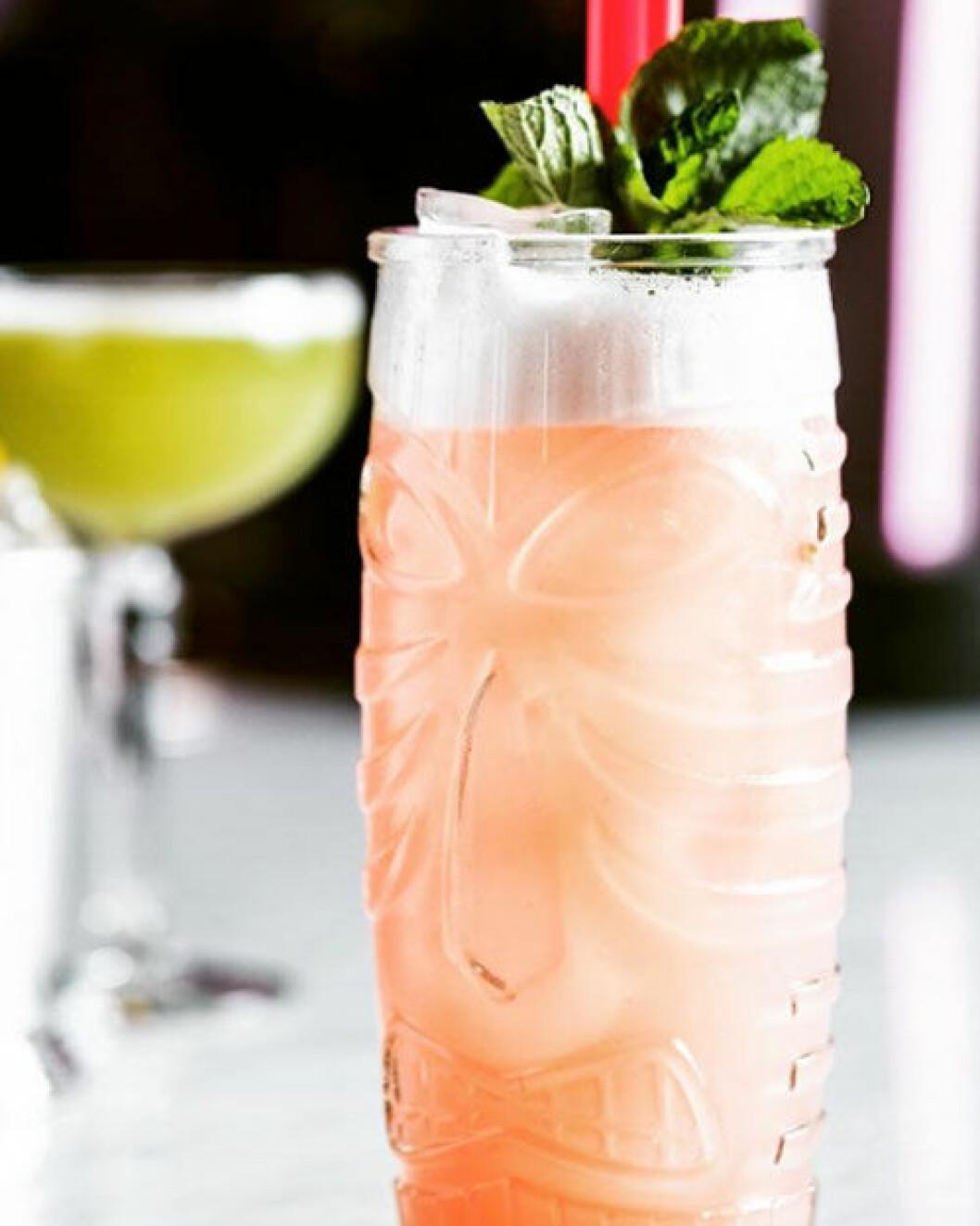 The Seven på Kungsholmen har ett bra utbud av alkoholfria drinkar.