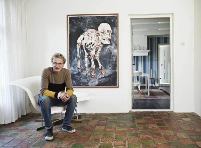 Thomas Eyck hemma hos Groningen Eames