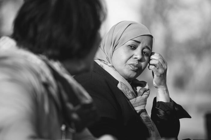 Fadumo Igal berättar om flykten från krigets Somalia.