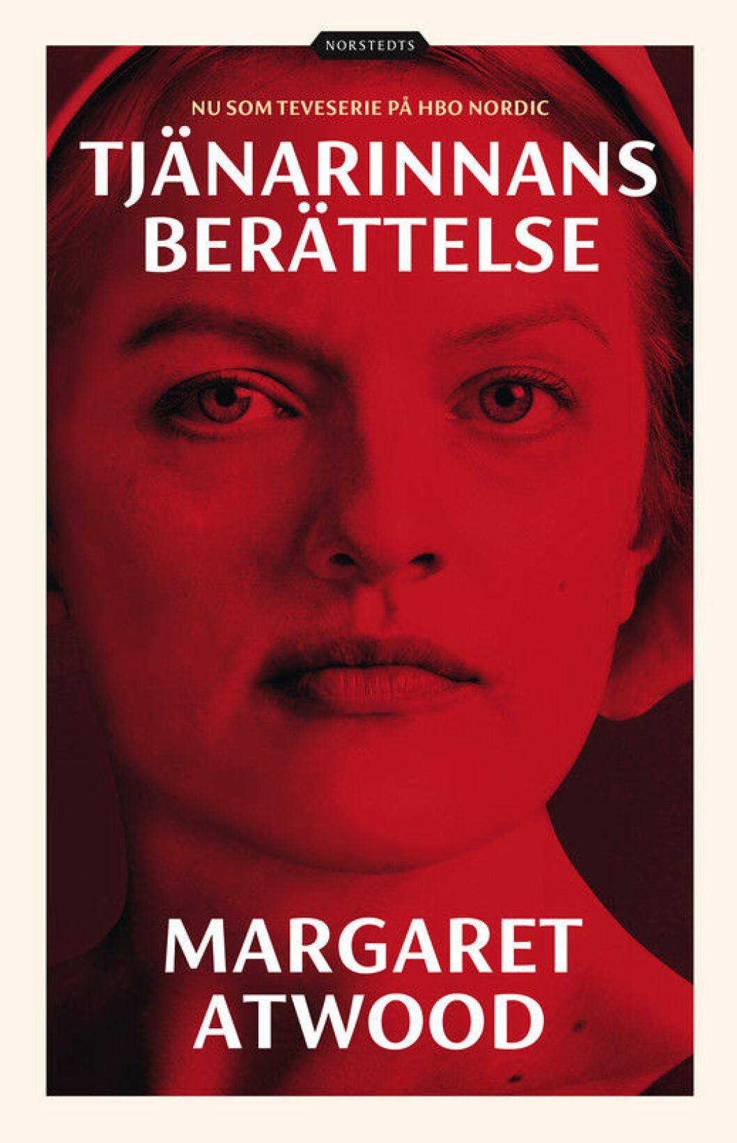 Tjänarinnans berättelse, en dystopisk bok av Margaret Atwood.