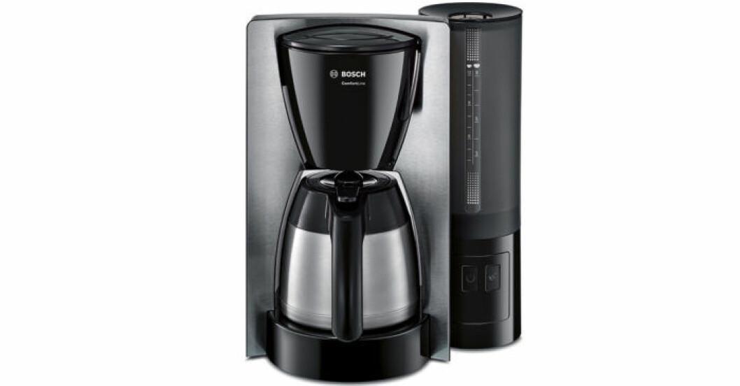 Kaffebryggaren TKA6A683 från Bosch, rostfritt stål