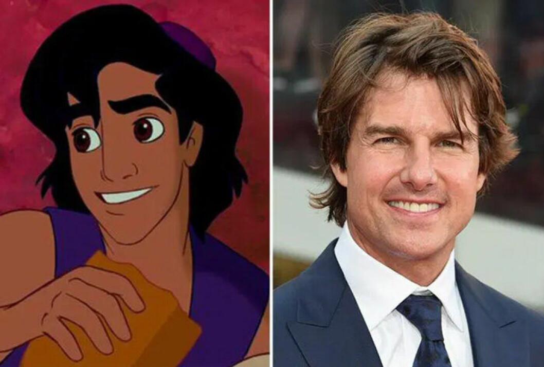 Tom och Aladdin