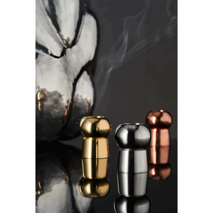 eleganta hållare för rökelsekoner