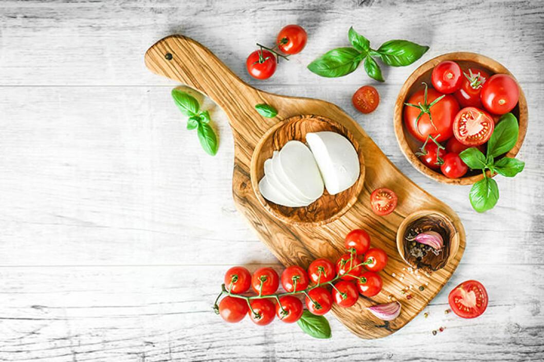 Inspirationsbild på färgglad mat