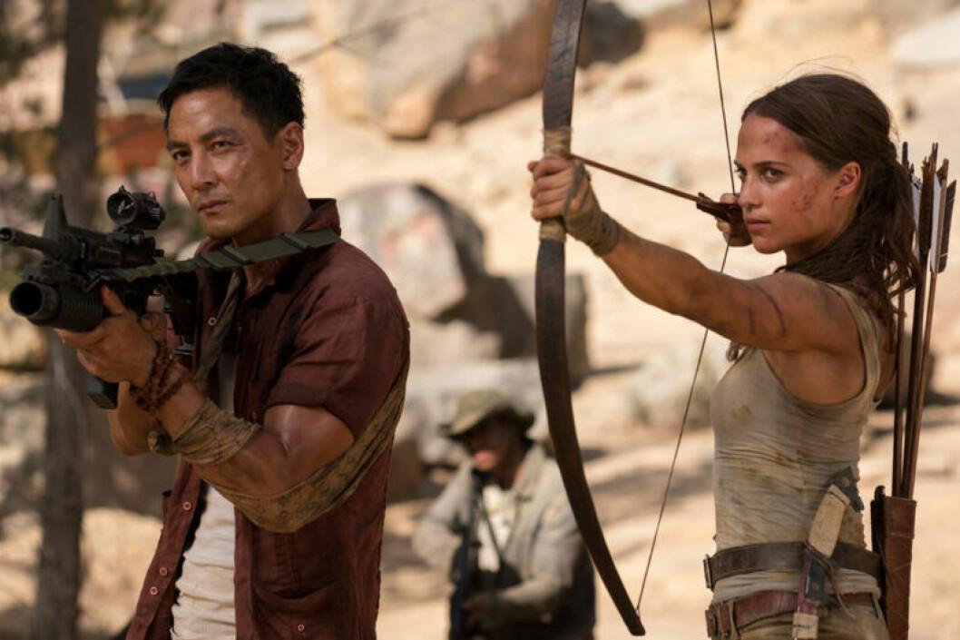 Tomb Raider med Alicia Vikander som Lara Croft