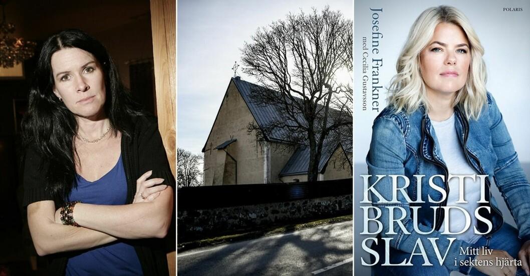 Josefine Frankner berättar i sin bok om hur hon blev Kristi bruds (Åsa Walldau) slav i den omskrivna Knutbysekten