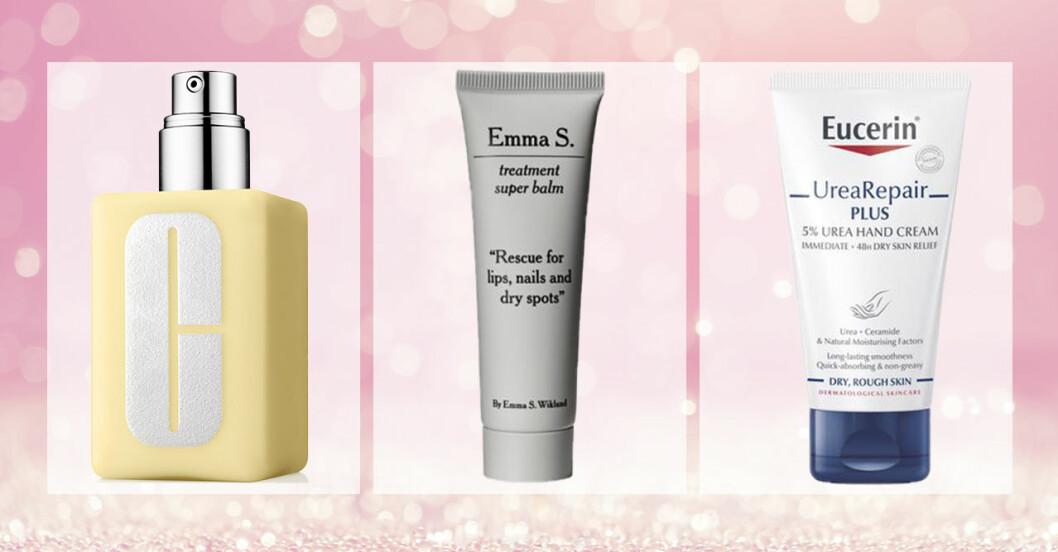Produkter för torr hud