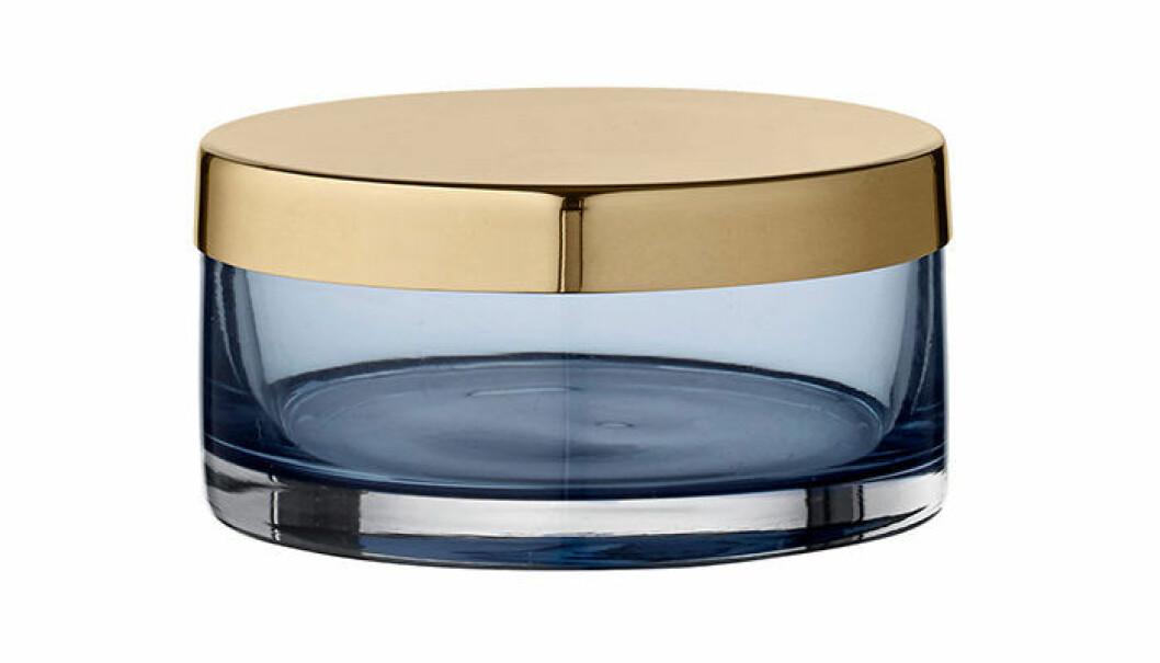 Asken Tota från AYTM i blått tonat glas