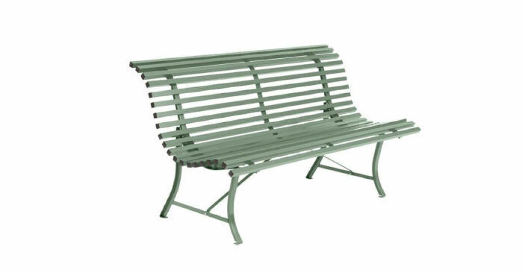 grön soffa utomhus