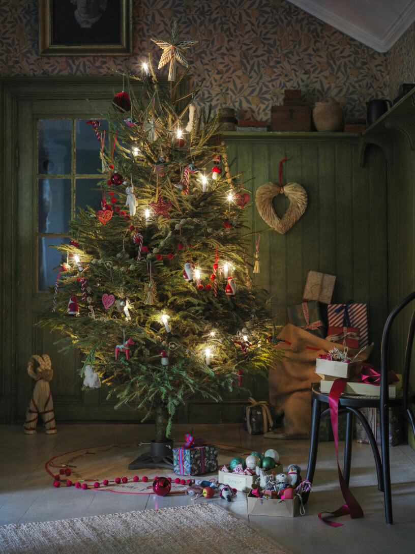 Traditionell julkänsla hos Åhléns