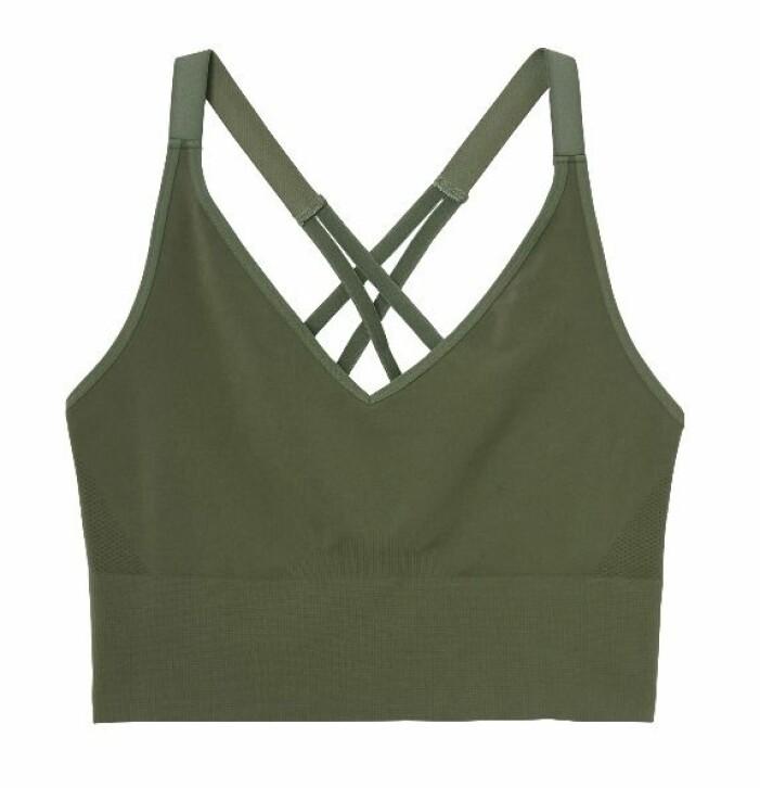träningsbehå olivgrön