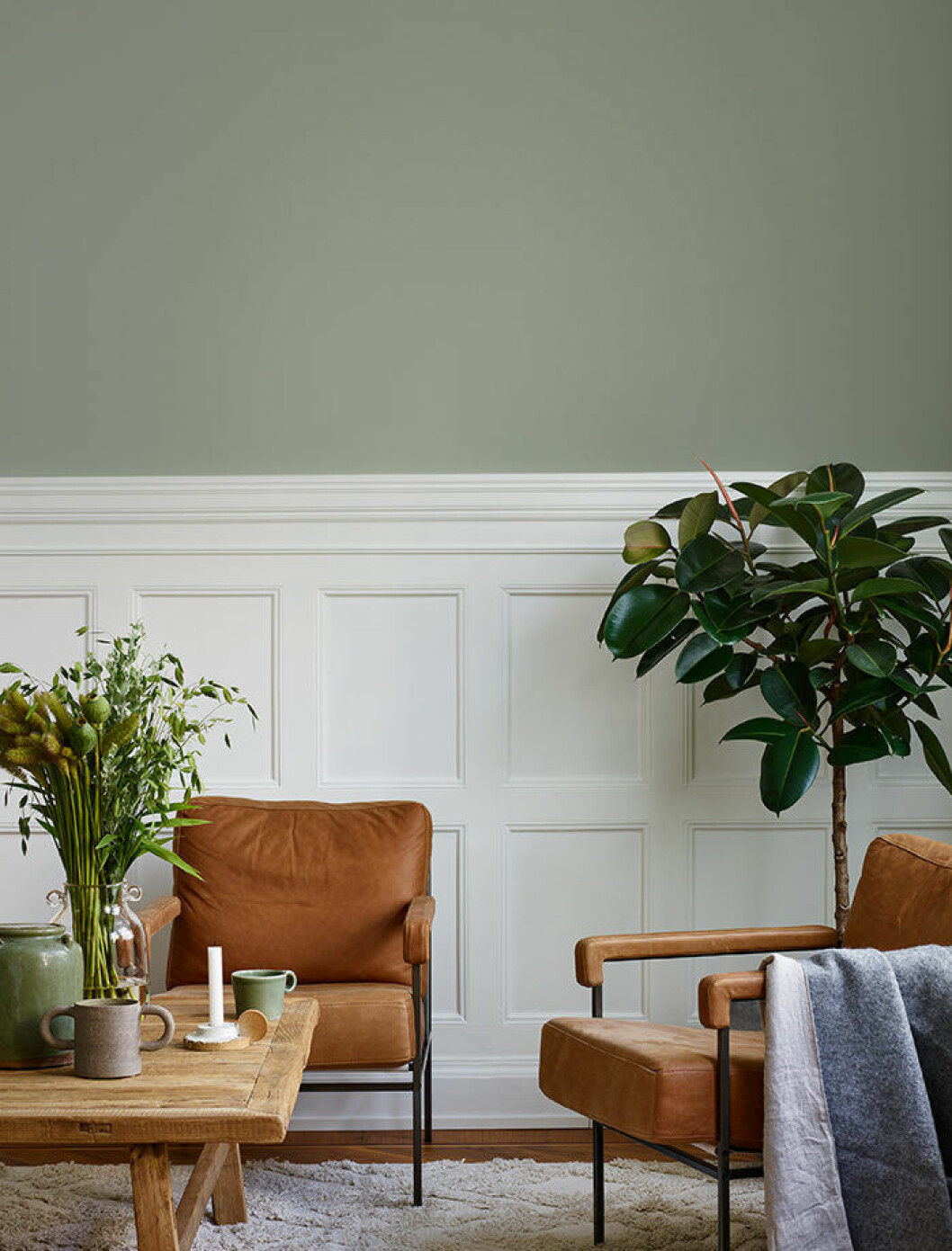 trendfärg 2019: grönt hos beckers