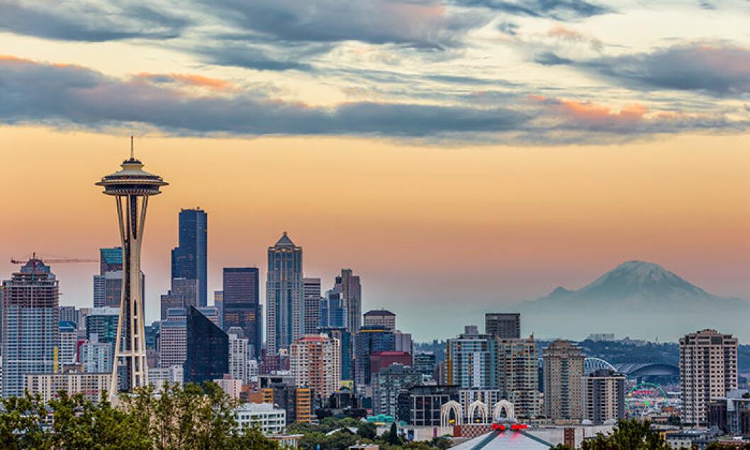 Seattle i USA är en av de trendiga städerna att besöka 2019