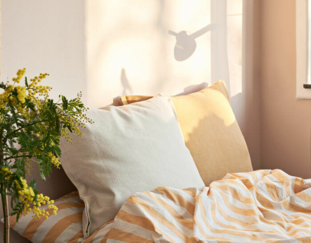 Trendiga sängkläder till våren