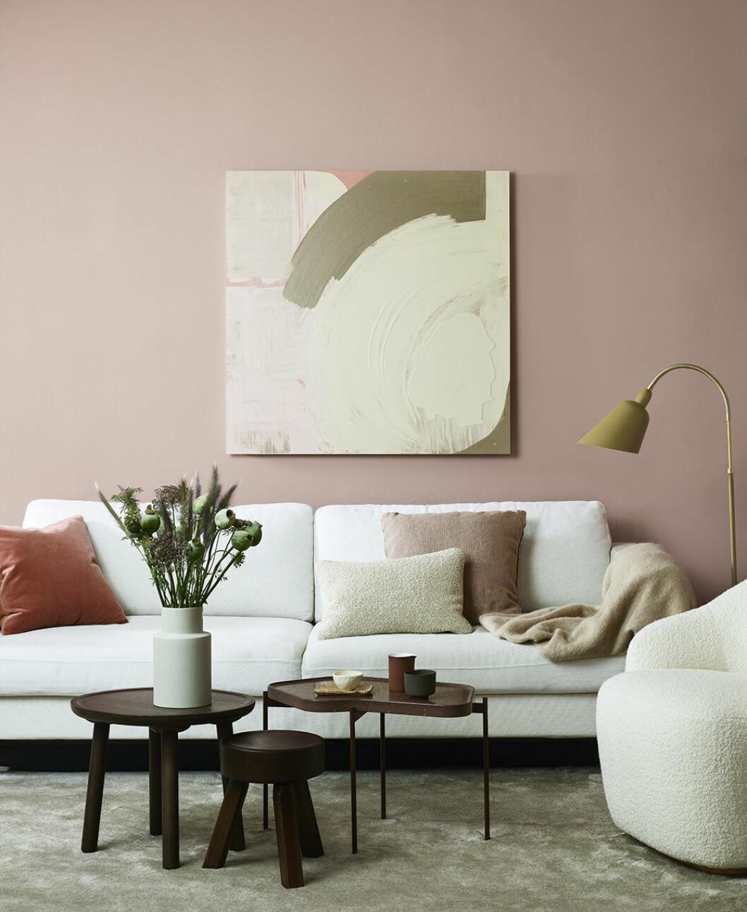 Trendigt rosa 2020 med Beckers mjuka rosa färger