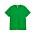 Ärtgrön t-shirt med rundad hals. T-shirt från Arket.
