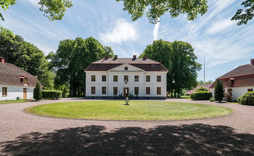 Tullesbo slott var en av de mest klickade på Hemnet 2018