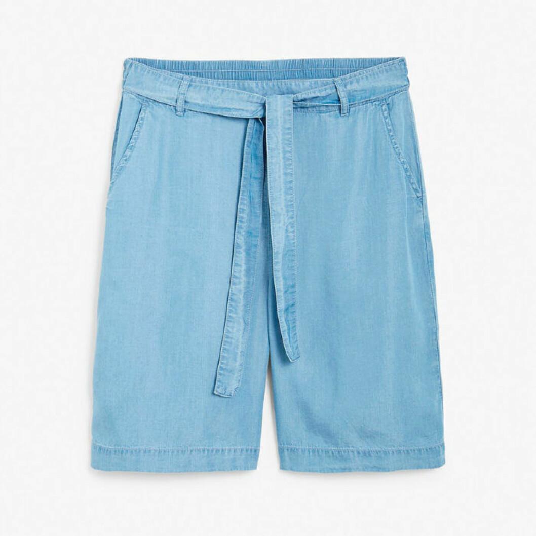 Shorts i tencel från Kappahl