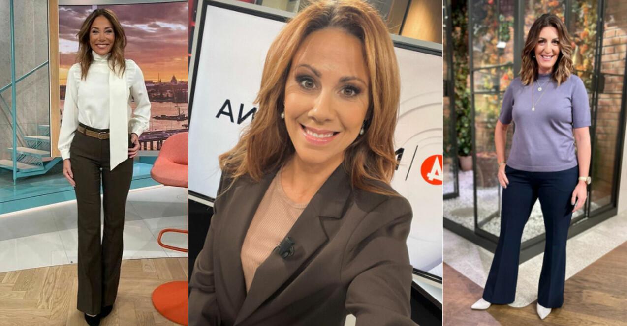 kläder på TV4 nyhetsmorgon, nyheterna, Efter fem och Malou efter tio