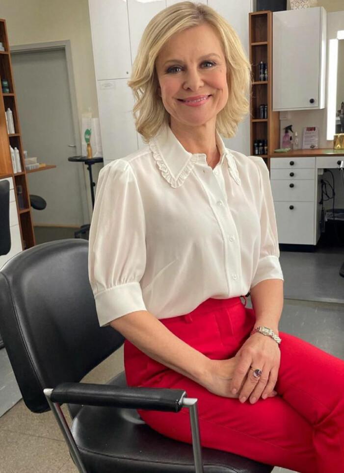 ulrika nilsson tv4 nyheterna vit blus