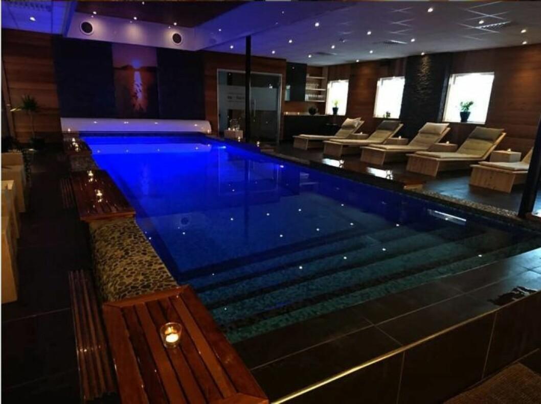 Pool och relaxavdelning Umeå Spa