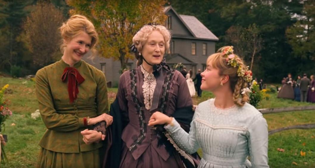 En bild från filmen Unga kvinnor.