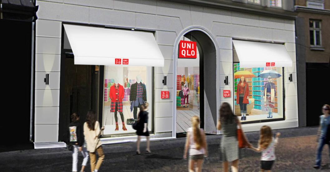 Uniqlo butik Kopenhamn