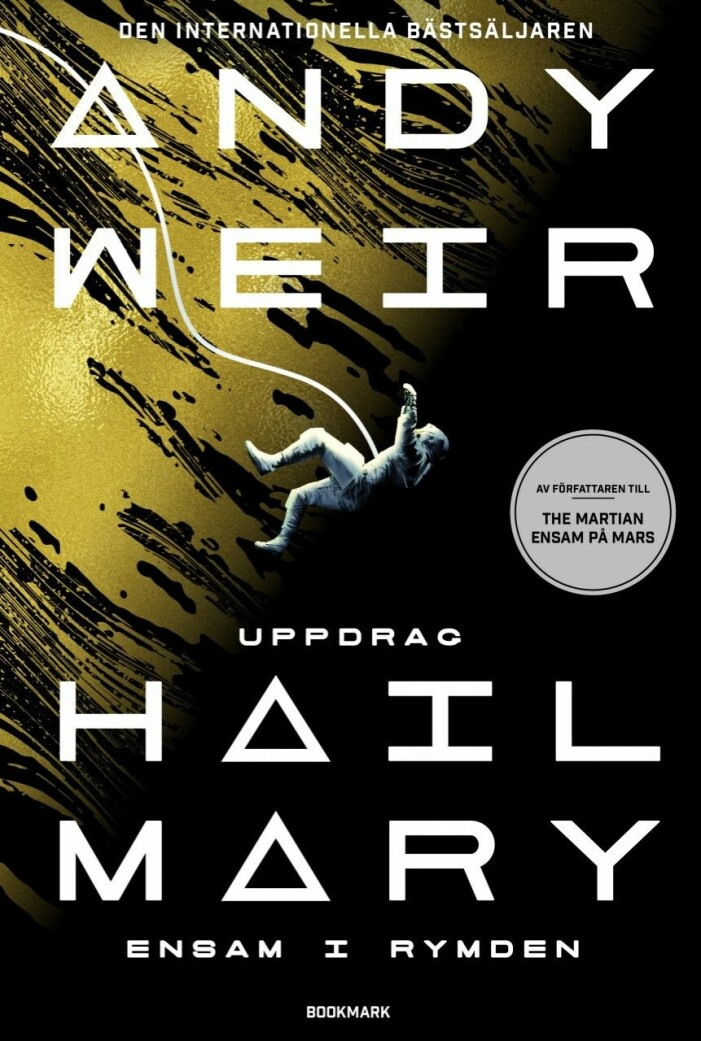 Bokomslag Uppdrag Hail Mary av Andy Weir