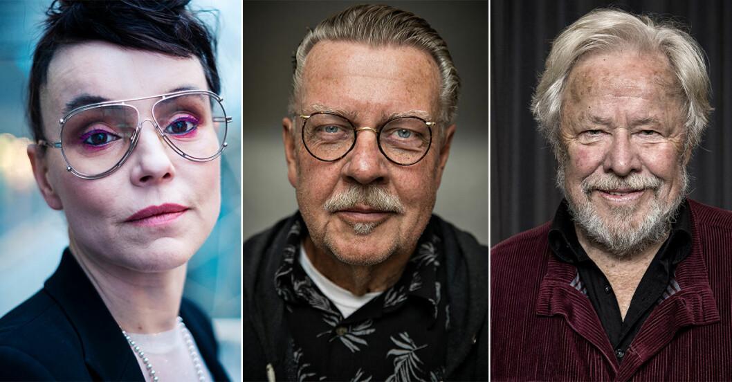 Lo Kauppi, Mikael Wiehe och Sven Wollter är med i ett upprop mot Israel.