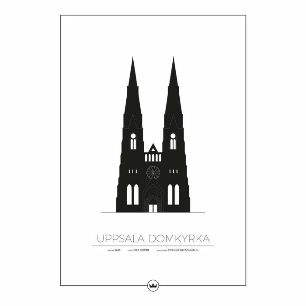 Uppsala domkyrka tavla