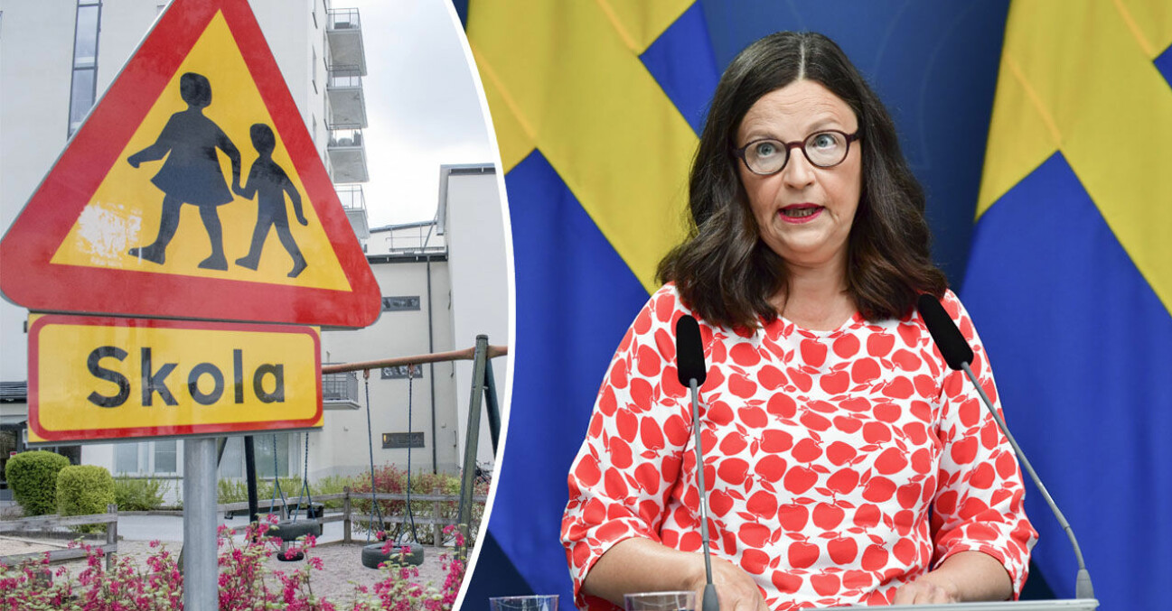 Utbildningsministern Anna Ekström