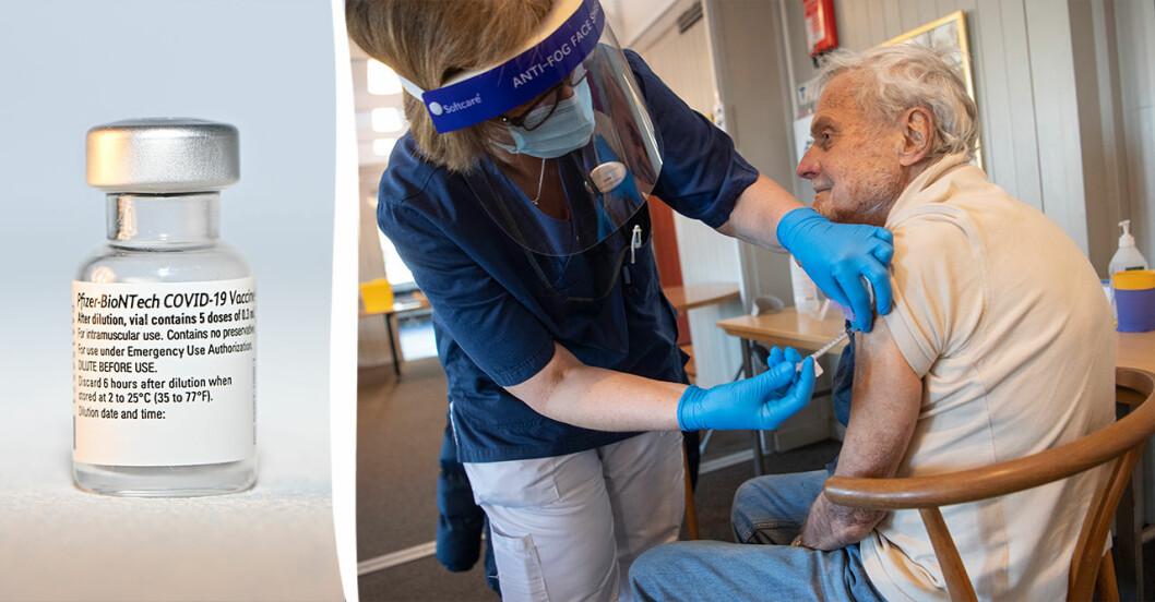 Vaccinationerna tar tid i Stockholm.