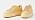 Ljusgula/beige sneakers i skinn med bred sula i samma färg. Sneakers från Vagabond.