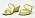 Gula remsandaler med kilklack. Sandaler från Vagabond.