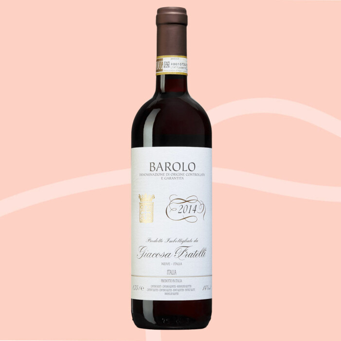 Italiensk rött vin, Barolo Giacosa Fratelli