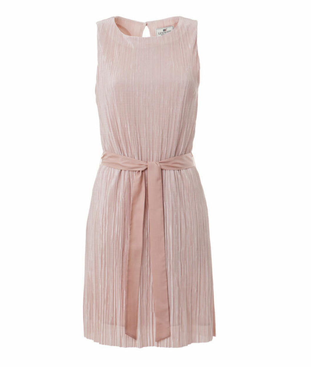 VALENTINA-PLISSE-DRESS-PINK
