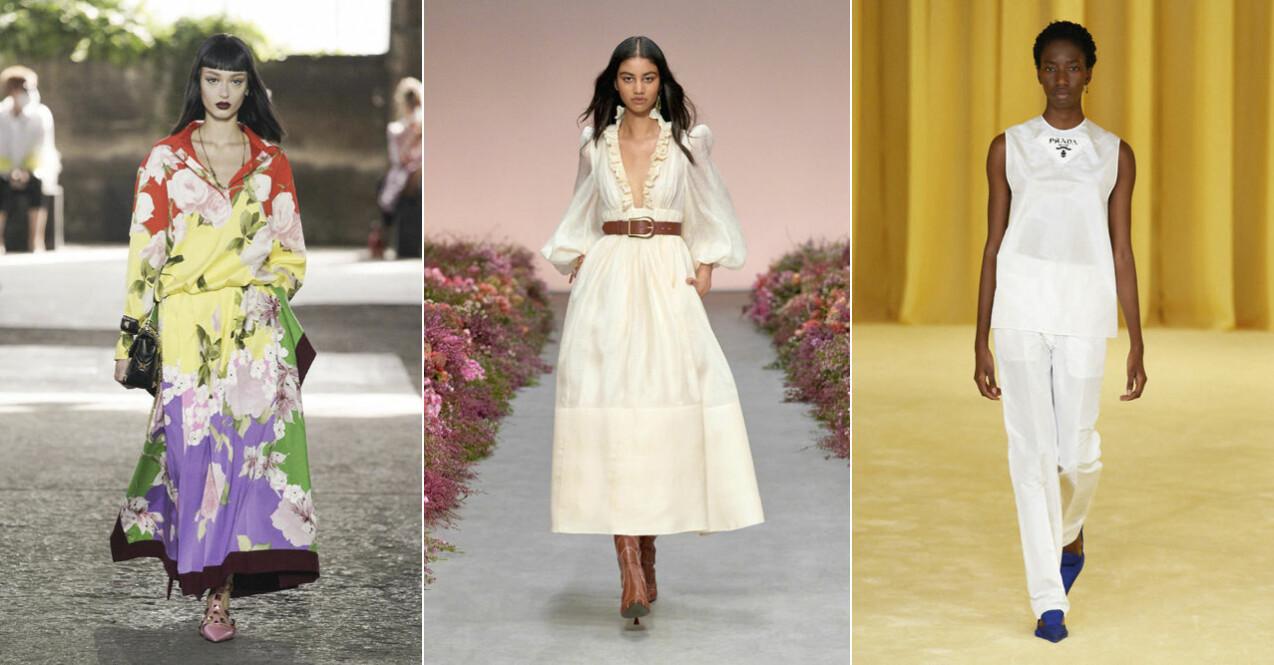 Valentino, Zimmermann, Prada ss 21 looks
