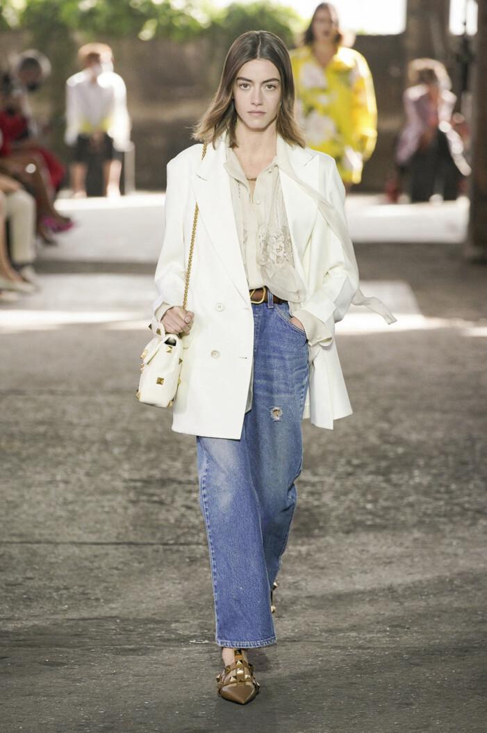 Valentino ss 21 blå jeans levis