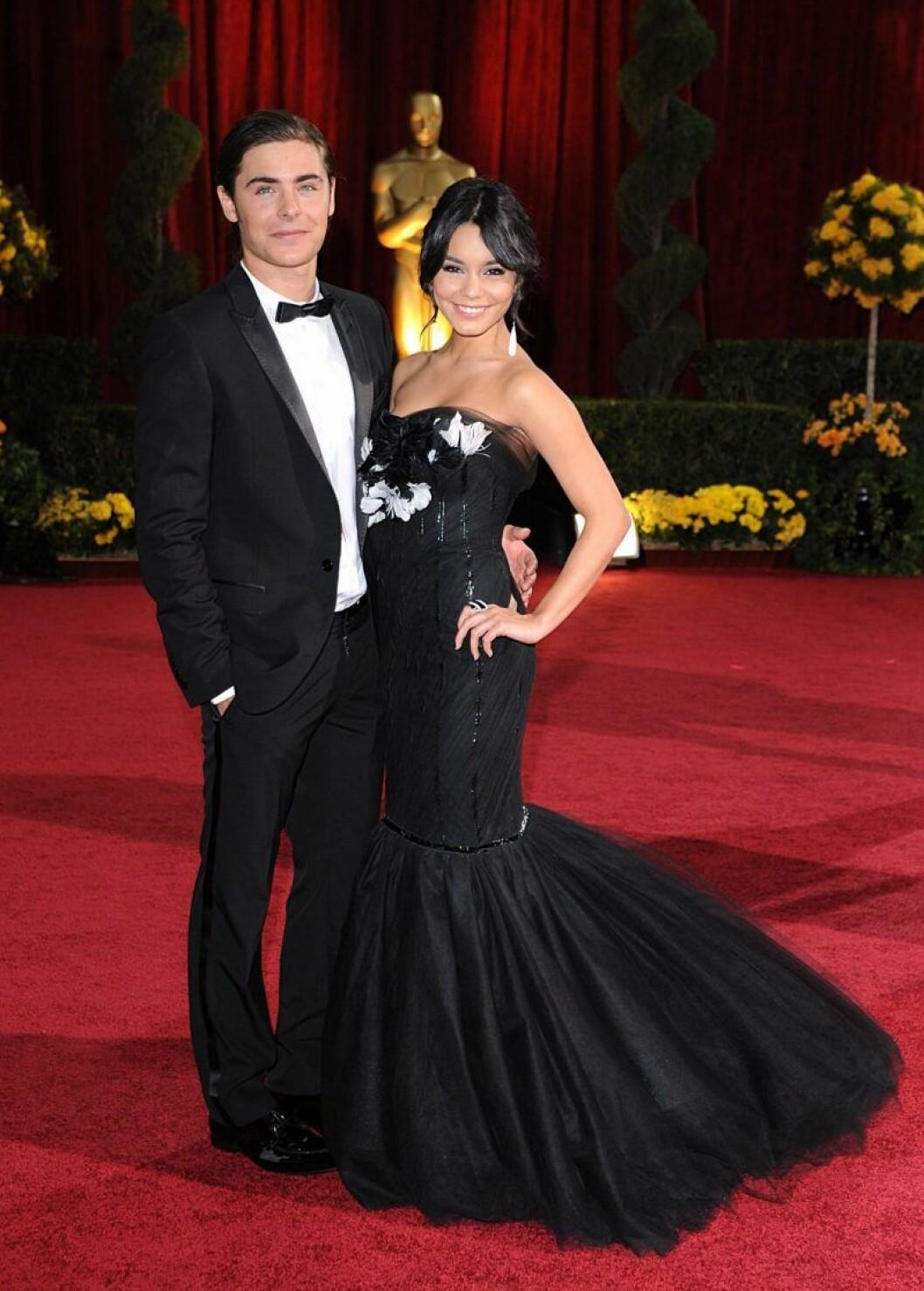 Vanessa Hudgens och Zac Efron på Oscarsgalan 2009
